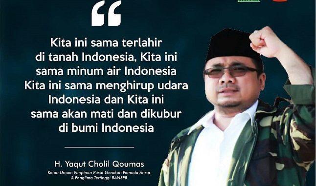 GP Ansor Memaknai Sumpah Pemuda