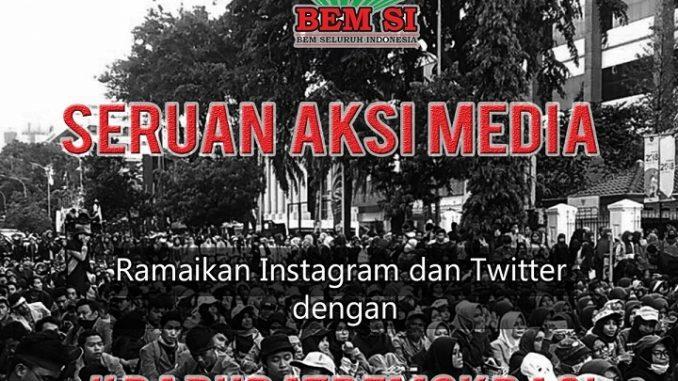 14 Mahasiswa Ditangkap, BEM-SI Serukan #DaruratDemokrasi