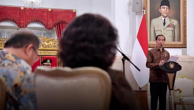 Sambut Tahun Politik, Presiden Jokowi: Pejabat Negara Fokus Kerja