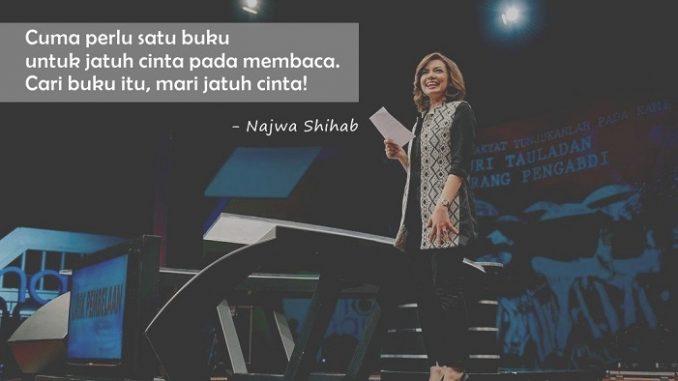 Baca! Begitu Pesan Najwa Shihab untuk Pemuda Zaman Now