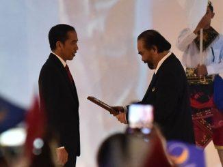 Partai NasDem Resmi Usung Jokowi untuk Pilpres 2019