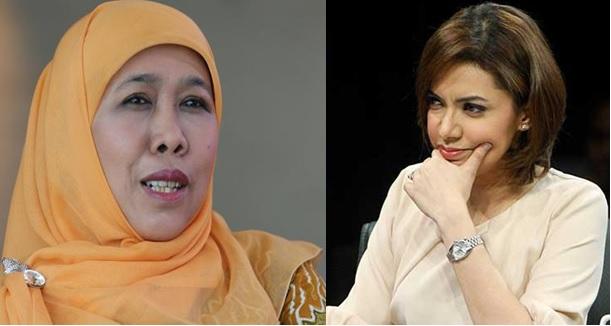 Najwa Menteri Sosial, Khofifah Gubernur