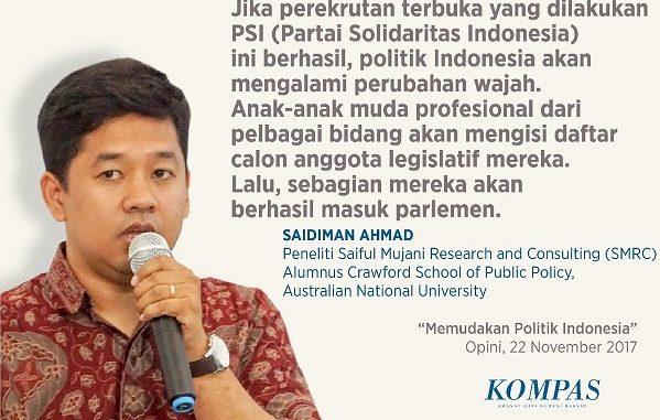 Memudakan Politik Indonesia