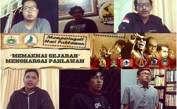 Sambut Hari Pahlawan, Sejumlah Mahasiswa Sulbar-Yogyakarta Sampaikan Testimoni