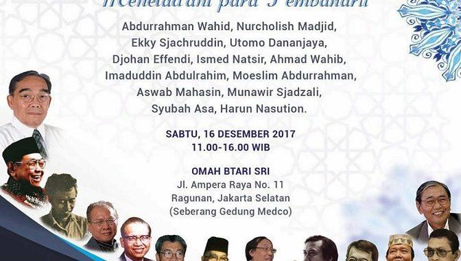 Mengenang Masa Keemasan Pembaruan Islam di Indonesia
