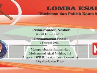 Lomba Esai: Parlemen dan Politik Kaum Muda