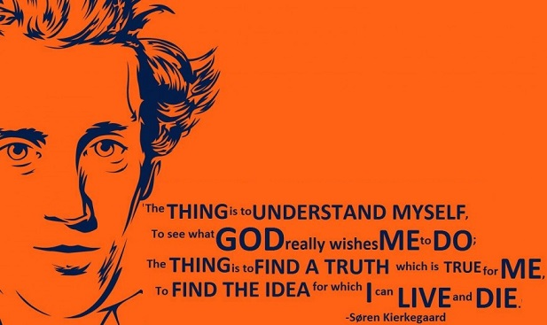 Subjektivitas, Tangisan dan Pembelaan Soren Kierkegaard