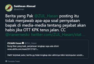 Dikritik Rian Ernest soal OTT, Zulkifli Hasan Tak Berkutik 3