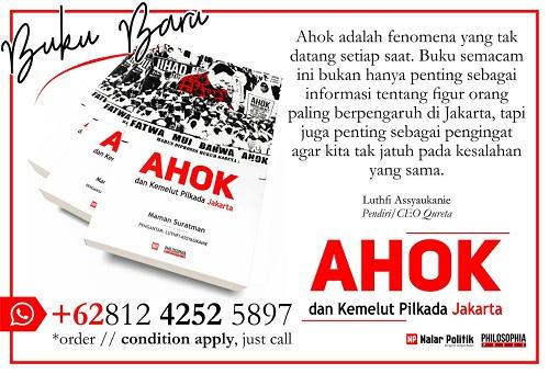 Pre-Order Buku Ahok dan Kemelut Pilkada Jakarta