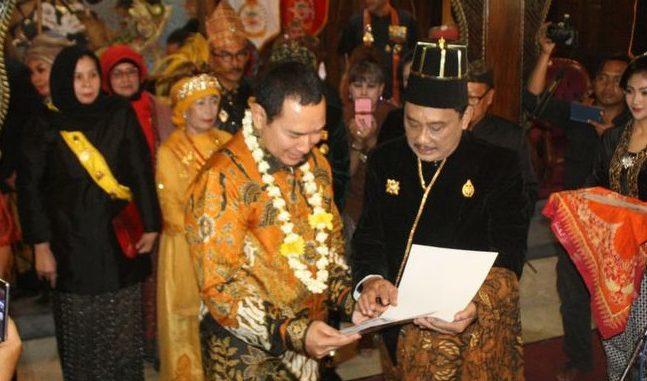 Di Tahun Politik, Tommy Soeharto Dapat Gelar Kanjeng Pangeran Haryo