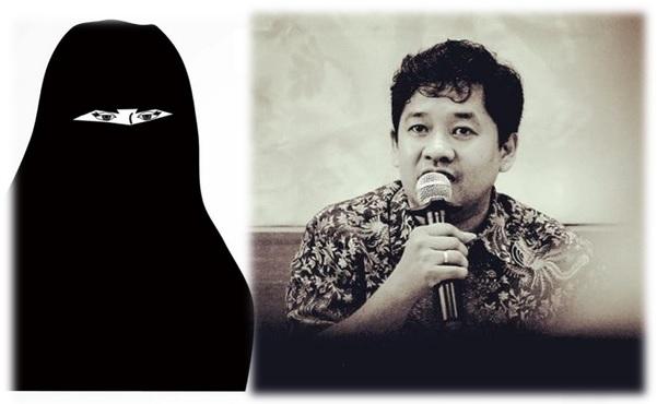 Dukung Pelarangan Mahasiswi Bercadar, Saidiman Ahmad: Ini Soal Identifikasi Individu