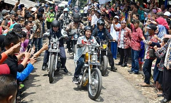 Jajal si Chopper, Jokowi Sambangi 2 Proyek Padat Karya Tunai