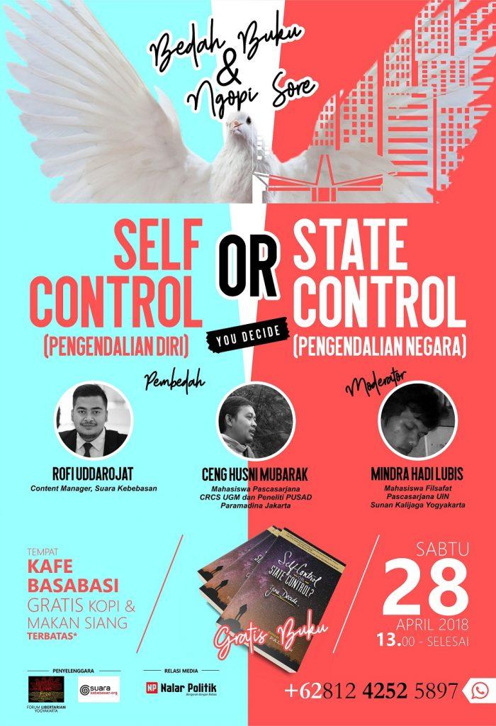 Bedah Buku & Ngopi Sore Forum Libertarian Yogyakarta-Suara Kebebasan
