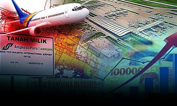 Polemik Ganti Rugi Pembangunan Bandara NYIA di Kulon Progo