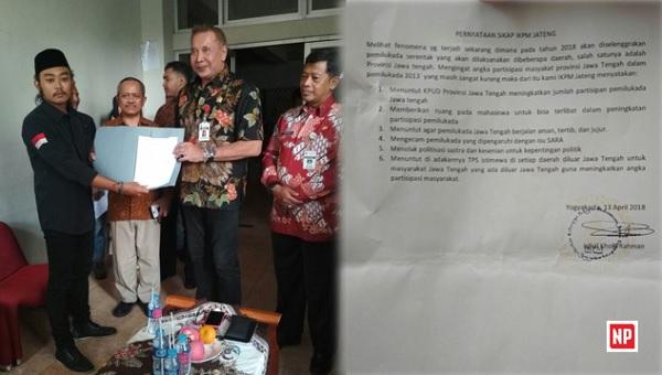 IKPM Jateng-Yogyakarta Nyatakan Sikap terkait Partisipasi Politik Mahasiswa