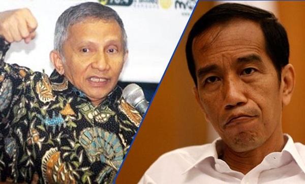 PAN Bunuh Diri Jika Dukung Jokowi, Amien Rais: Kecuali Gempa Politik