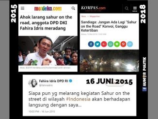 Larangan Sahur on the Road, Fahira Idris Kecam Ahok tapi Mingkem pada Sandiaga Uno