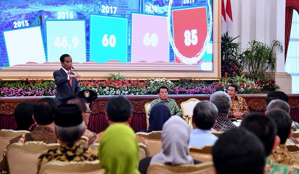 Jokowi Dorong Diversifikasi Produk Tani