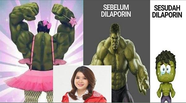 Kehancuran Hulk Dihajar dan Dipermalukan Grace Natalie