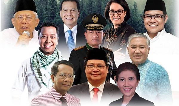 10 Nama Cawapres Jokowi, Siapa Anda Pilih?