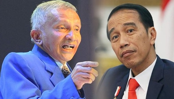 Demi Umat, Amien Rais Diminta Turun Gunung Tantang Jokowi