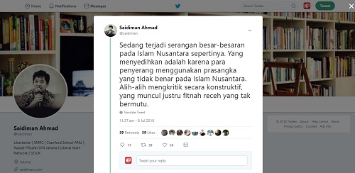 Semangat Islam Nusantara