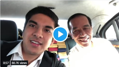 Jokowi Panggil 'Bro', Syed Saddiq: We are One