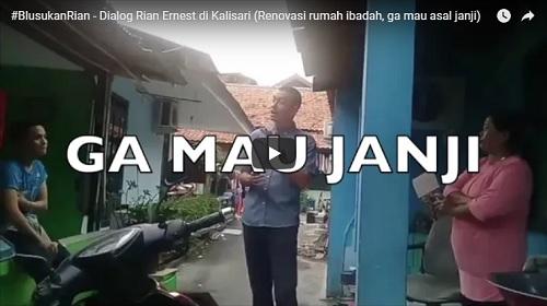 Video: Rian Gak Jamin Bisa Bantu Warga Kalisari