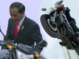 10 Pesan Video Aksi Motor Jokowi ke GBK
