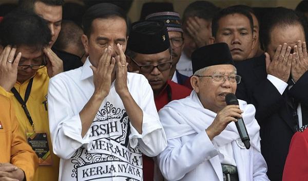 Alasan Jokowi Pilih MA Jadi Wapres (?)