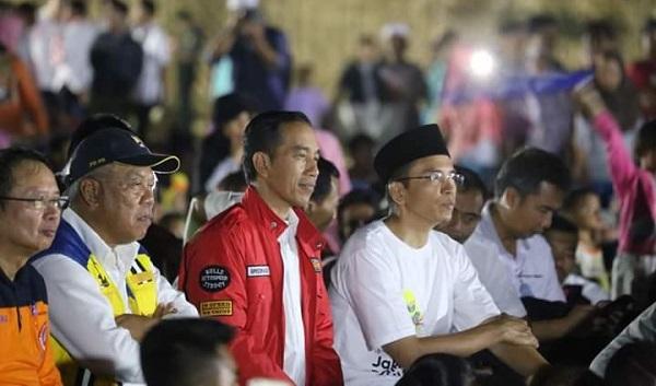 Seruan Energi Asia Jokowi untuk Lombok