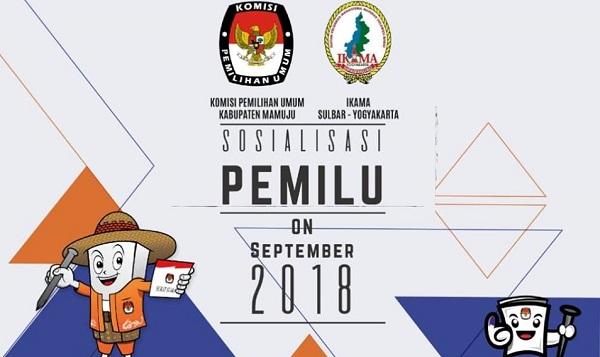 Sosialisasi Pemilu, Ikama Sulbar akan Gandeng KPU Mamuju