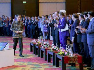 Standing Ovation untuk Pidato Presiden Jokowi