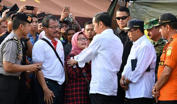 Presiden Jokowi Terus Tangani Musibah Lion Air JT-610