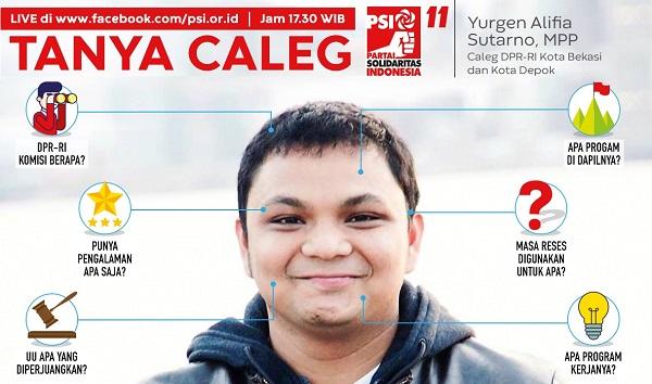 Tanya Caleg PSI, Cara Inovatif PSI Perkenalkan Caleg ke Publik