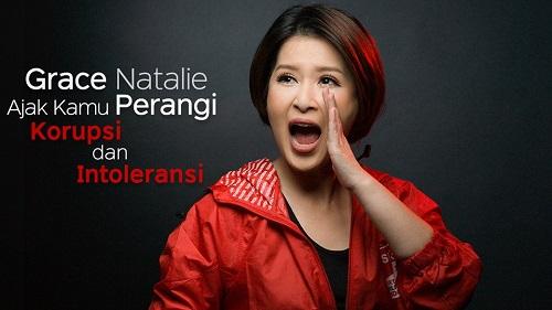Grace Natalie ajak perangi korupsi dan intoleransi