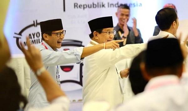 Prabowo-Sandi Bagai Sopir-Kondektur Ubah Jalur di Tengah Jalan