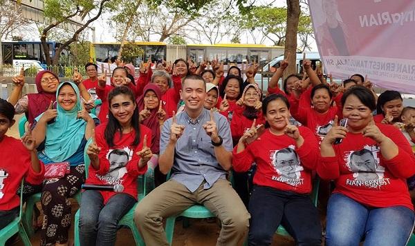 Elektabilitas Rian Ernest Melesat Mendekati Politisi Lama di Dapil DKI I Jakarta Timur