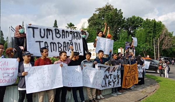Dari Jogja, Pemuda Aceh Bersolidaritas Lawan Perampok Kekayaan Alam