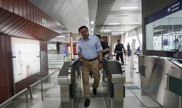 Akhirnya Ahok Mencoba Karyanya, MRT Jakarta