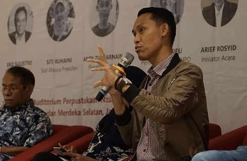 Andi Zulkarnain untuk Jokowi: Rekonsiliasi OK, Politik Dagang Sapi NO