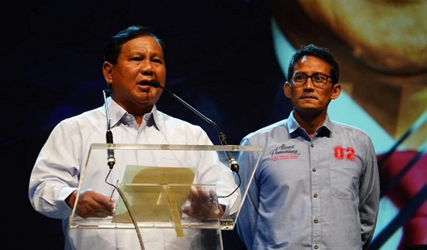 Belum Puas, Tim Prabowo-Sandi Kembali Ajukan Kasasi ke MA