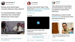 Mengaku Tidak Tolak Reklamasi, Guntur Romli: Anies Baswedan Munafik Akbar 1