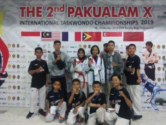 Atlet Muda Majene Sabet 2 Medali di International Taekwondo Championship 2019