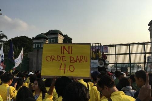 Dari Orde Baru ke Gelombang Demonstrasi Mahasiswa September 2019