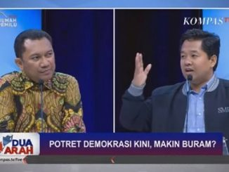 Debat Demokrasi dan Kebebasan, Saidiman dan Usman Bungkam Politisi Pendukung Jokowi
