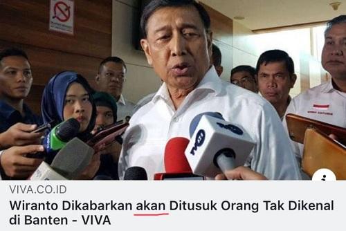 Viva Tak Pantas Jadi Media Berita