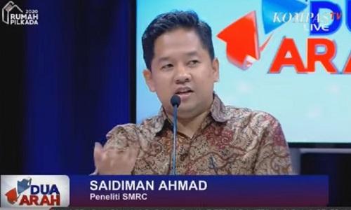 Saidiman Ahmad Kebebasan Kebablasan Adalah Narasi Para Diktator