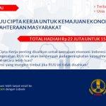 Kompetisi Esai Indeks: Urgensi RUU Cipta Kerja untuk Kemajuan Ekonomi