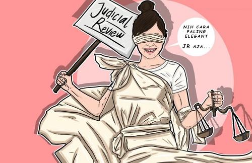 Judicial Review Cara Tepat Menguji UU Cipta Kerja